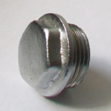 "3/4"" Chrome Plated Male Thread Plug - 25950200"